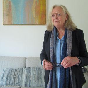 Irene van Kamp. Portrait.