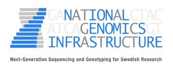National Genomics Infrastructure. Logo.
