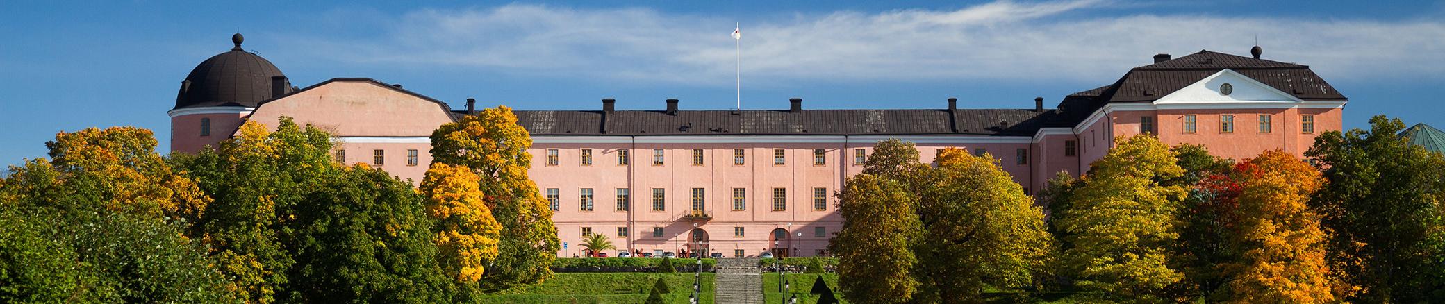 Uppsala castle exterior. Photo.