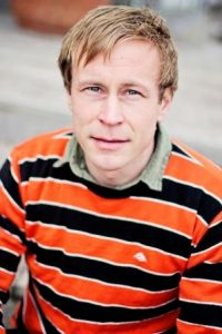 Filip Larsen. Portrait.