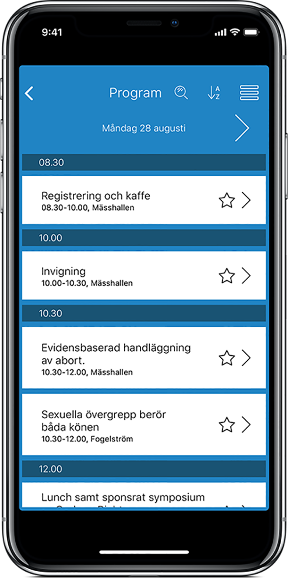 Program-IphoneX-störretest